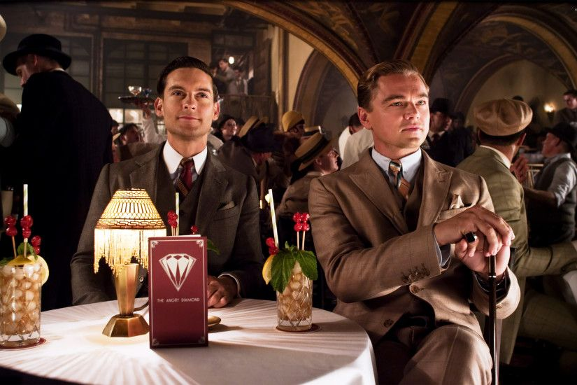 Nick Carraway and Jay Gatsby - The Great Gatsby wallpaper · Movies ·  Leonardo DiCaprio · Tobey Maguire ...