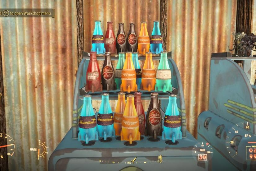 Functional Display Stands - Model Robots Nuka Cola Etc. at Fallout 4 Nexus  - Mods and community