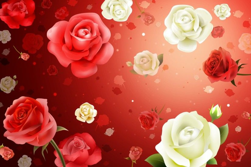 2587x1687 Wallpaper flowers, roses, background, texture
