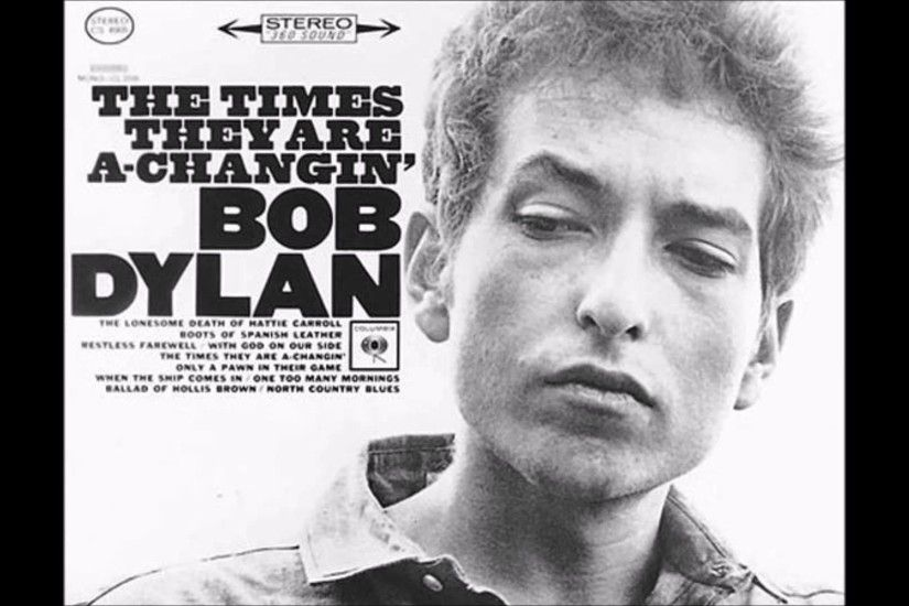 Bob Dylan, The Times They are a changin, Vocal Cover (Audio only)