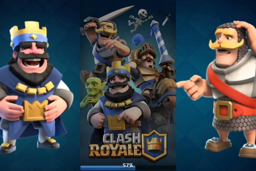 Clash Royale Android iPhone Games Wallpaper HD | Wallpaper Tycoon .