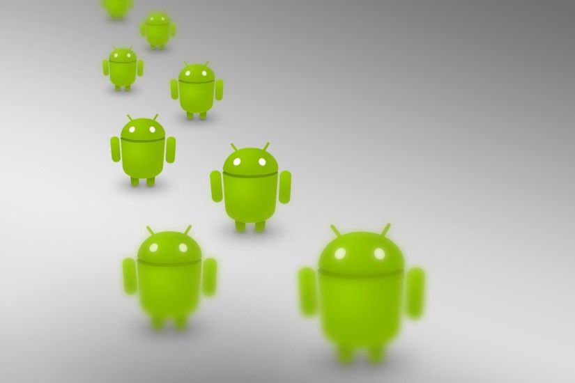 Preview wallpaper android, operating system, robots, many 3840x2160