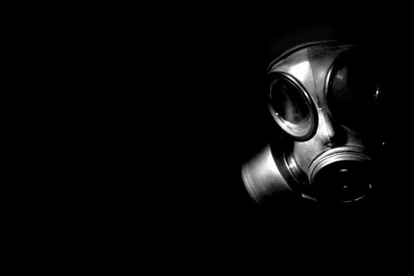 Dubstep Gas Mask Wallpaper