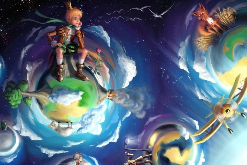 The Little Prince wallpaper - Fantasy wallpapers - #34527