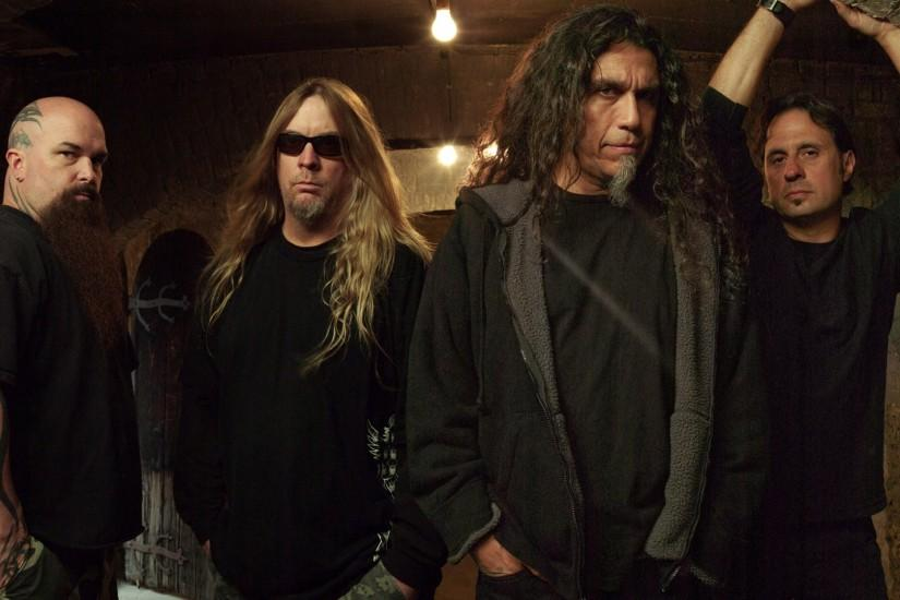 Preview wallpaper slayer, band, tattoo, bald, light 1920x1080