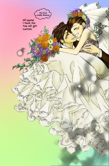 ... Wedding Ouran High School Host Club by youowemeasoda