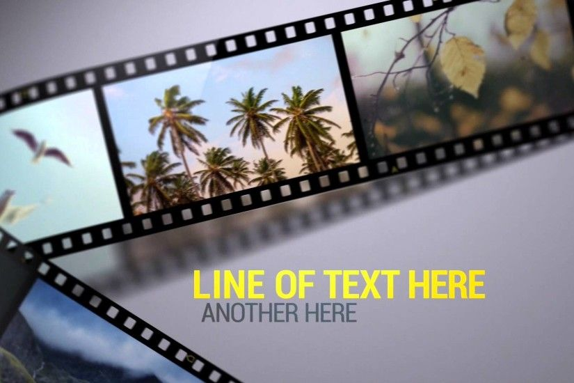 Film Strips After Effects Template