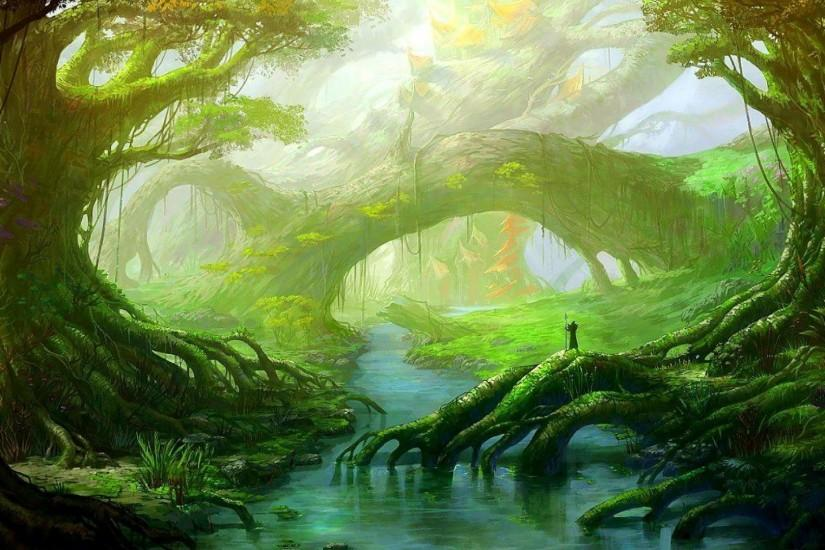 Fantasy Forest Wallpaper 290653