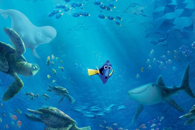 Dory Finding Dory Hank · HD Wallpaper | Background ID:710865