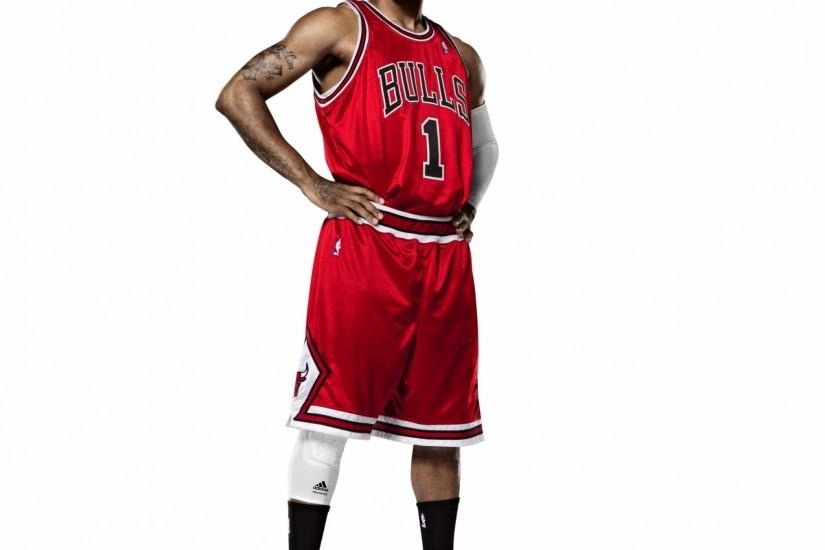 Preview wallpaper slam dunk, derrick rose, nba, basketball, chicago bulls  2048x2048