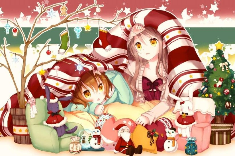 Anime Christmas Wallpaper HD (70+ images)