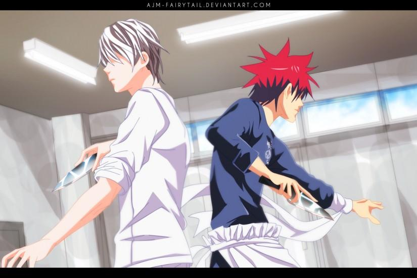 download free shokugeki no soma wallpaper 2787x1296 for lockscreen