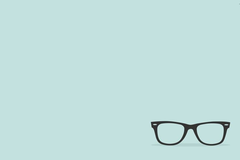 Eyeglasses with black frames wallpaper 2880x1800 jpg