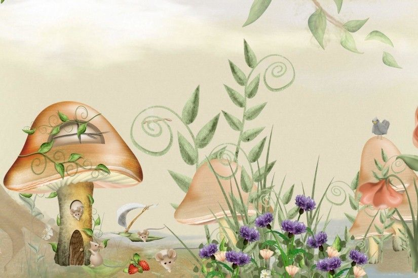 HD The L Of Fairy Tale Mice Wallpaper | Download Free - 76934