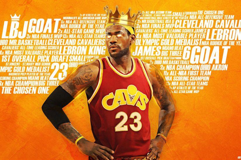 LeBron The King James 2017 2560x1440 Wallpaper