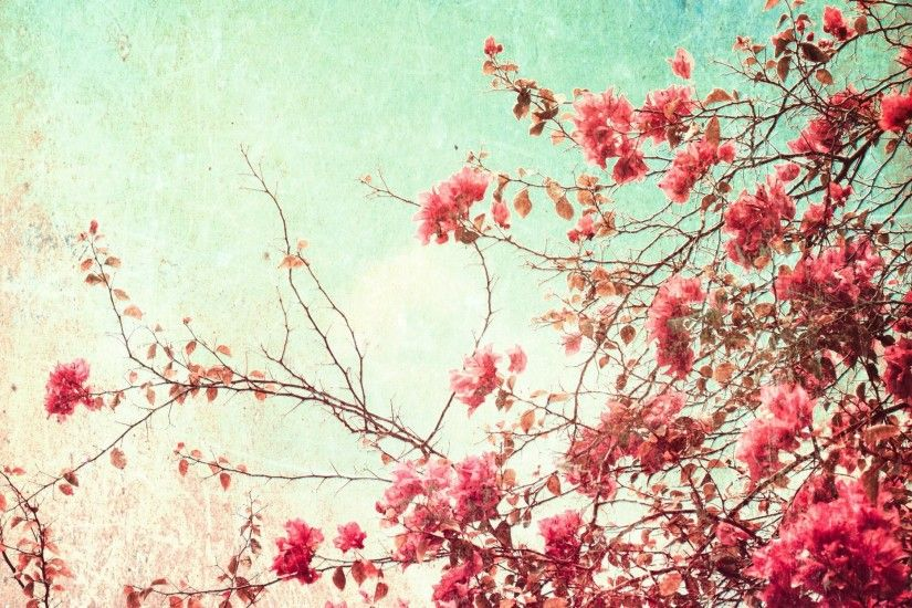 vintage flower free desktop backgrounds for winter