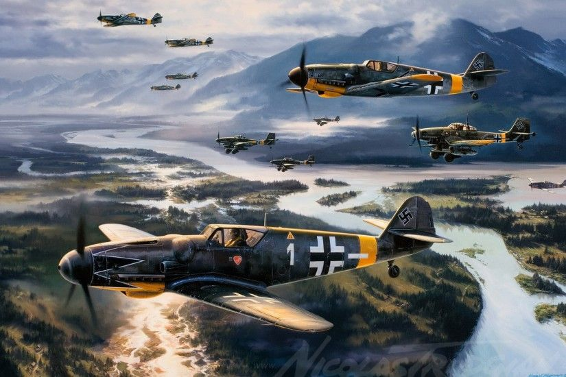 Messerschmitt, Messerschmitt Bf 109, World War II, Germany, Military,  Aircraft, Military Aircraft, Luftwaffe, Airplane Wallpapers HD / Desktop  and Mobile ...