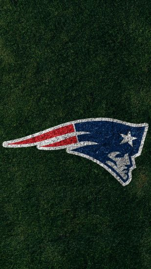 ... New England Patriots 2017 turf logo wallpaper free iphone 5, 6, 7,  galaxy