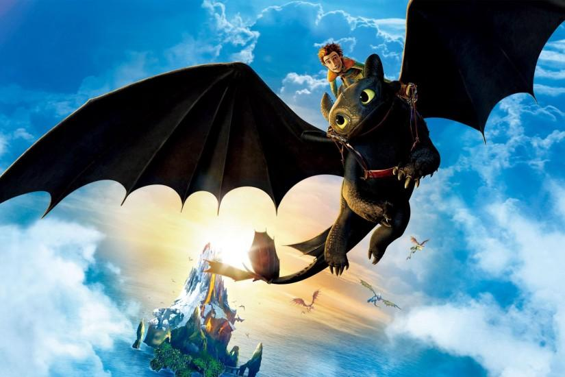 HD Toothless - How To Train Your Dragon Wallpaper