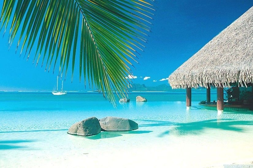 Tropical Beach Paradise Backgrounds 20555 Hd Wallpapers in Beach n .