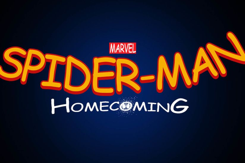 Spider-Man: Homecoming Logo 1920x1080 wallpaper
