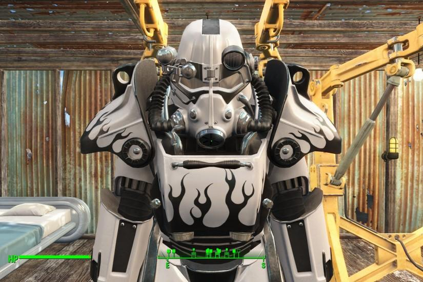 Worsins Paint Garage White T-45 Standalone Promo at Fallout 4 Nexus - Mods  and community