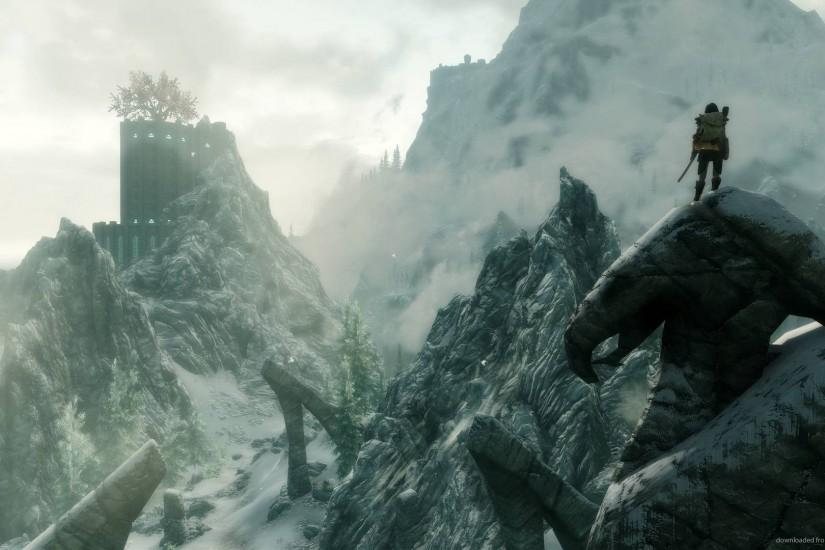 Skyrim Wallpaper 42 awesome backgrounds 23131 HD Wallpaper | Wallroro.