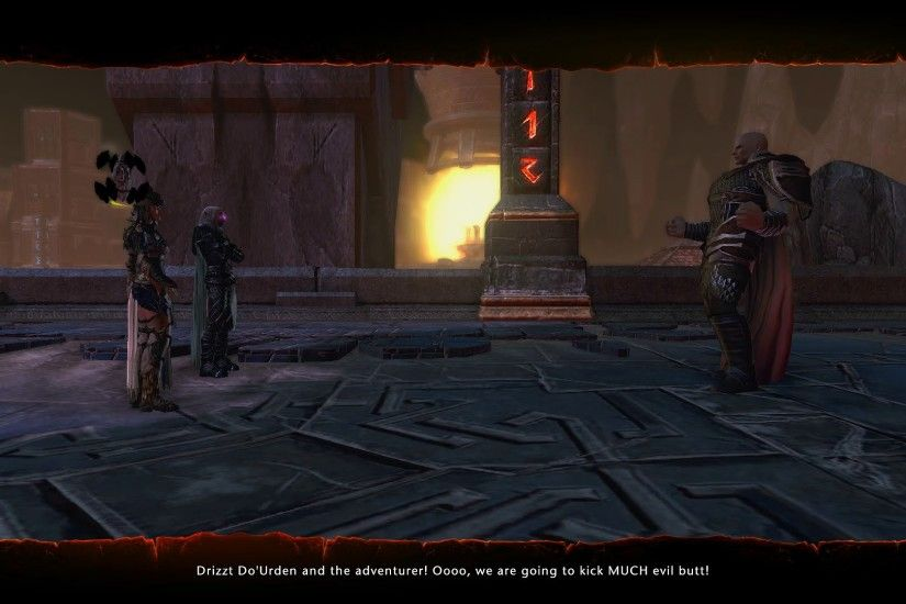 Neverwinter: Drizzt meets Minsc