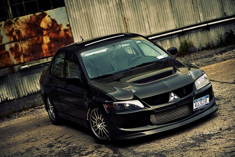 Mitsubishi Lancer Evolution VIII hd widescreen wallpaper wallpapers