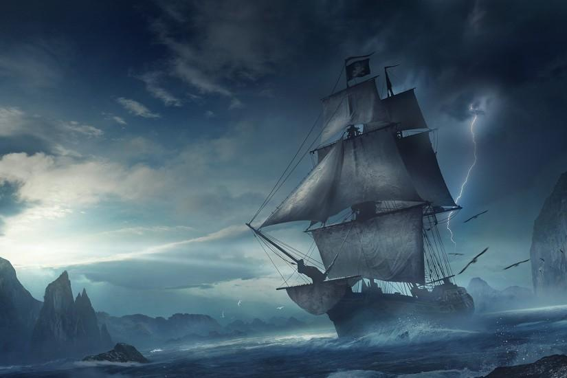 Sea Pirate, View: 55758020 Sea Pirate, Guan-CH Wallpapers