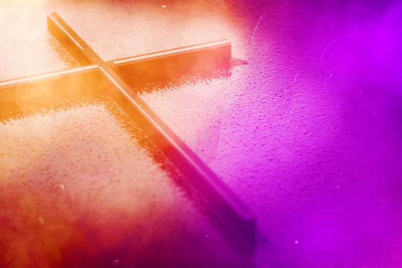 Subscription Library Slow Gold And Purple Cross Motion Background Seamless  Loop