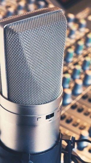Studio Microphone Samsung Android Wallpaper ...