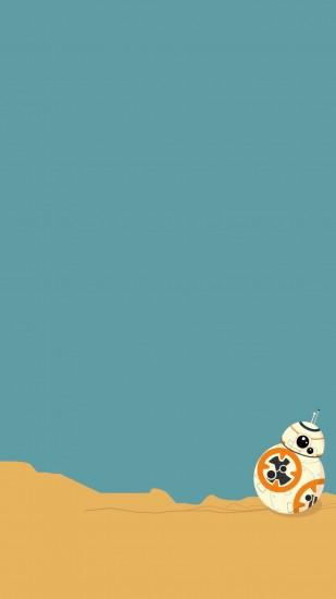 BB-8 Wallpaper. Star Wars: Force Awakens