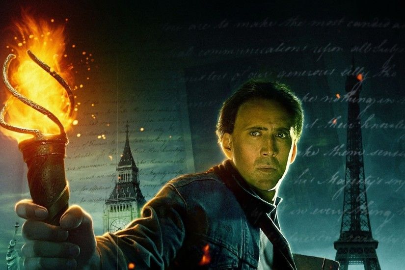 General 1920x1080 National Treasure: Book of Secrets Nicolas Cage movies  fire Eiffel Tower Big Ben