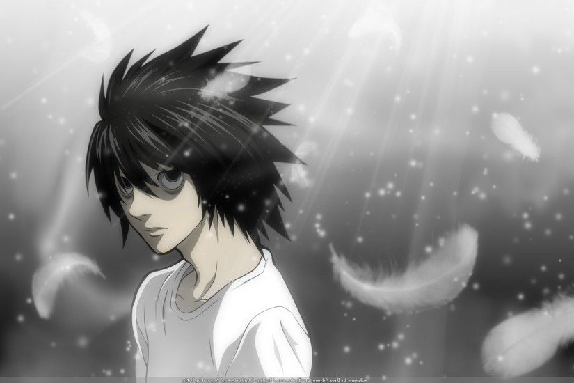 anime, Death Note, Lawliet L, Anime Boys Wallpapers HD / Desktop and Mobile  Backgrounds