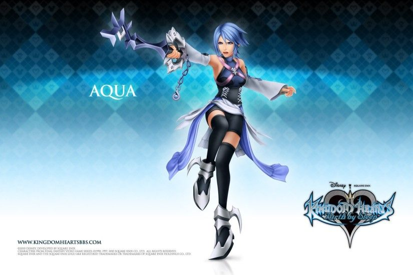 Kingdom Hearts Birth By Sleep Aqua .