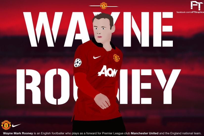 ... Wayne Rooney - Vector And Wallpaper by selcukinan8