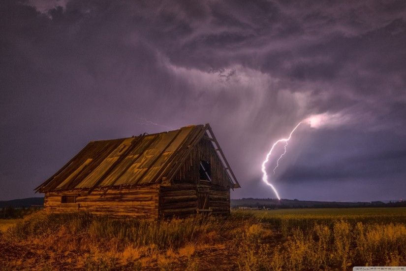 Thunderstorm HD Wide Wallpaper for 4K UHD Widescreen desktop & smartphone