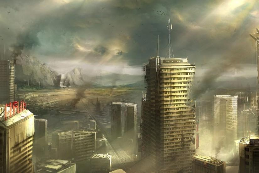 Images For > Apocalypse City Background