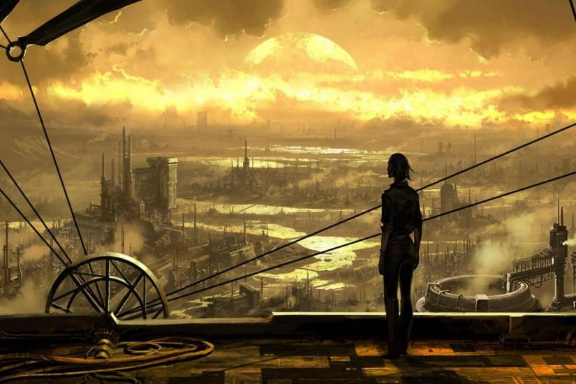 best steampunk background 1920x1080 free download