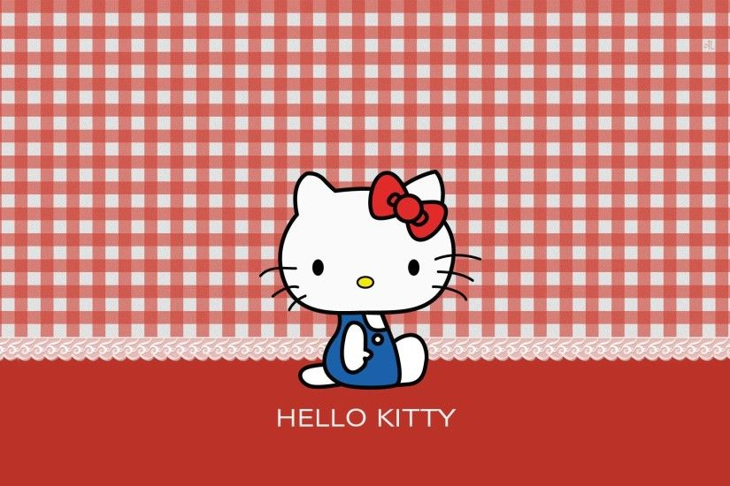 Wallpapers For > Black And Red Hello Kitty Background