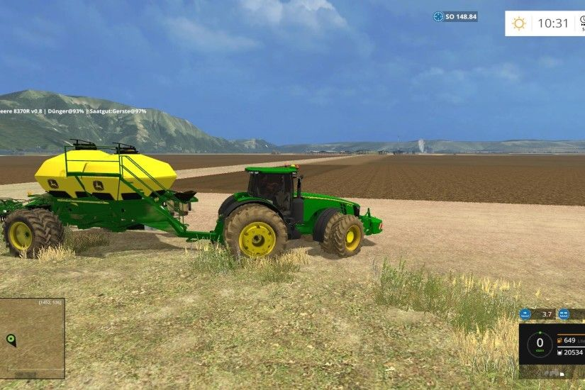 JOHN DEERE 8370R TRACTOR FROM AGROSKETCH