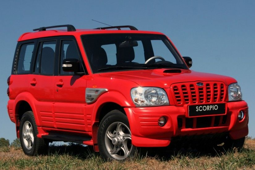 Mahindra Scorpio 2006–09 wallpapers