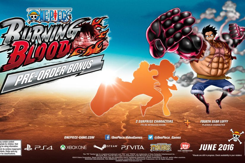 One Piece: Burning Blood Rilis - 864.9KB