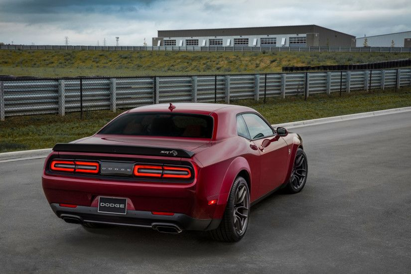 2018 Dodge Challenger SRT Hellcat Widebody Rear