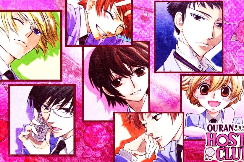 Anime - Ouran High School Host Club Wallpaper