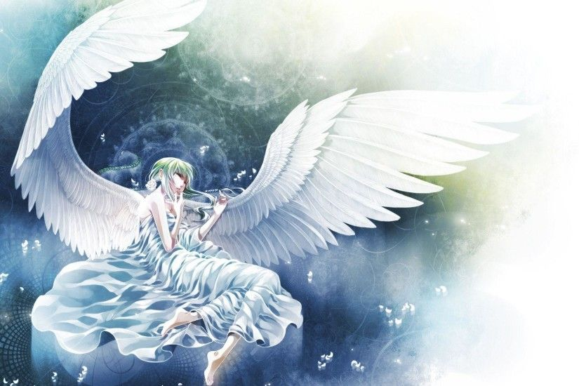Download New Anime Angel White Full Just Another High Wallpaper .