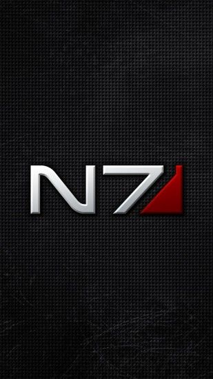 1080x1920 Wallpaper mass effect, n7, font, background, shadow