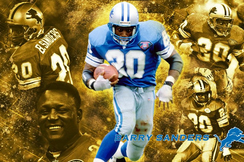 Barry Sanders Gold Series · Gallery