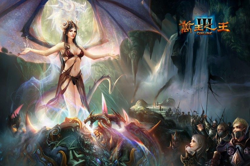 King Of Kings 3 Fantasy Mmo Rpg Action Fighting Online 1koks Medieval  Warrior Poster Angel Wallpaper At Fantasy Wallpapers